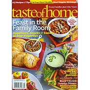 Taste of Home Magazine Back Issue ONLY ONE AVAILABLE