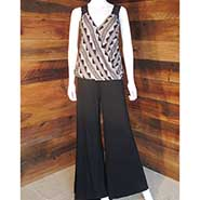Venus Black and White Pant Suit *ONLY ONE AVAILABLE size MEDIUM*