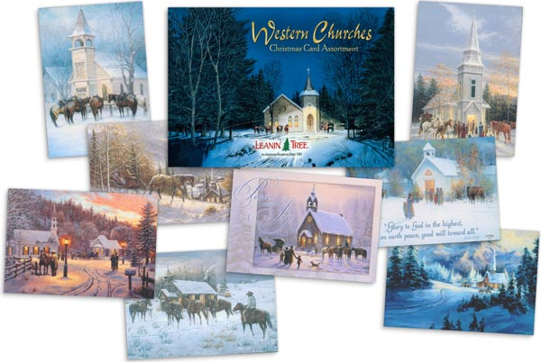 Western Churches Christmas Card Assortment