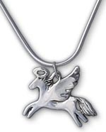 Angel Horse Pendant