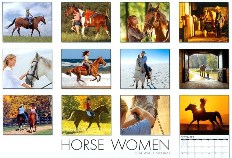 Horsewoman Calendar