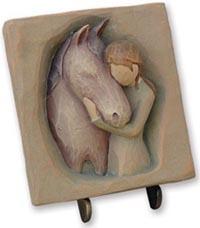 Clay Plaque
