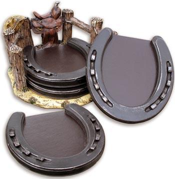 Horseshoe Coaster Set