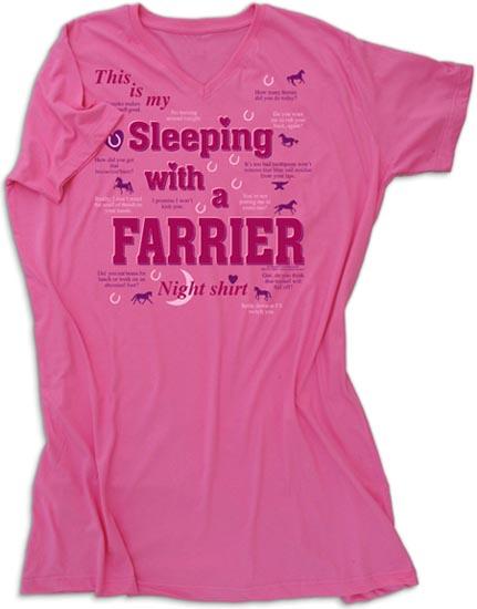 Farrier Night Shirt