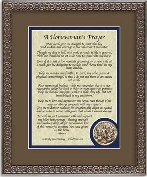 Horsewoman's Prayer