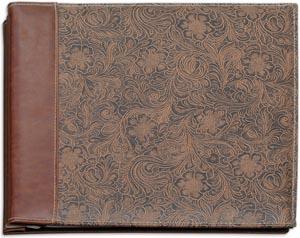 Leather Scrapbook