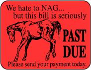 Nag Sticker