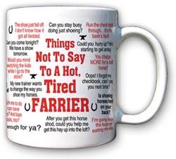 Things not to say Mug