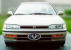 Oval License Plate-Honda