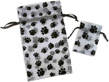 Pawprint Gift Bags