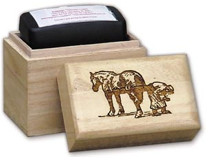 Rubber Stamp Box