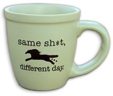Same Horse Mug
