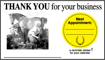 Business Card Sticker
