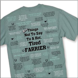 More Things Not to Say T-shirt