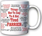 Things not to say Mug