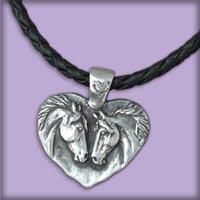Horse Heart Jewelry