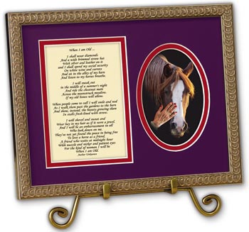 Women in Red Framed Verse